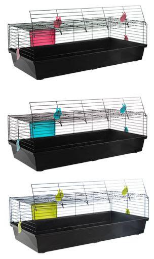 Foldable Black Cage Rabbit 527